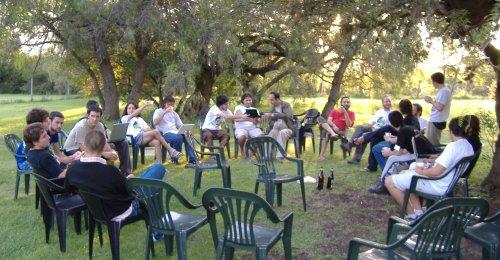 Reunión al aire libre