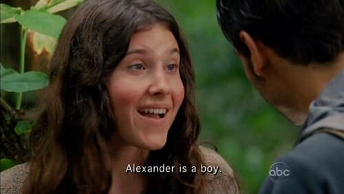 Melissa Farman Alexander es niña