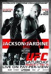 Harley-Davidson UFC 96 fight poster (Harley-Davidson Motor Company) Tags: poster fight jackson harleydavidson hd ufc 96 jardine