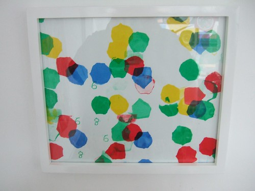 Four colour screen print