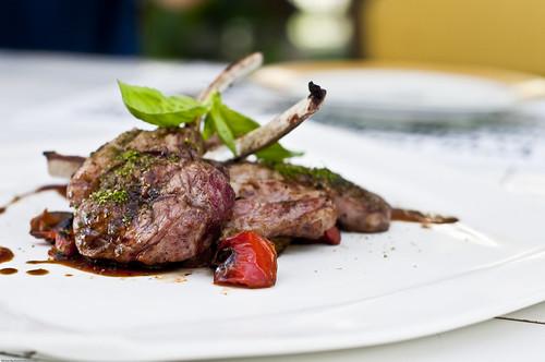 Herb-crusted Lamb Rack