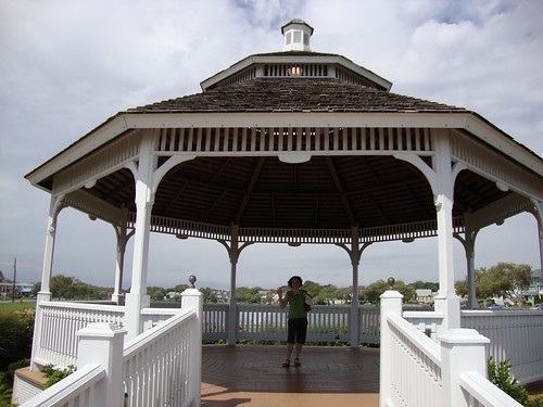 me in the gazebo