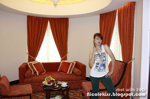 me and my arabian suite in sunway resort