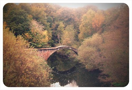 141009_ Strathclyde Park_ Roman Bridge 001 (Camerabag'd Instant) (287/365)