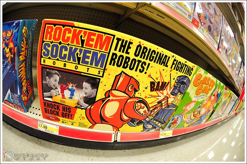 Rock'em Sock'em.