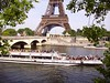 Bateau Mouche on river Seine near the Pont d'Iéna and Eiffel Tower in Paris, France (JPC24M) Tags: bridge people paris france tourism statue seine boat dock holidays tour eiffel toureiffel anchor pont foule newyorkavenue bateau gens tourisme fleuve croisière touriste ancre pontdiéna avenuedenewyork