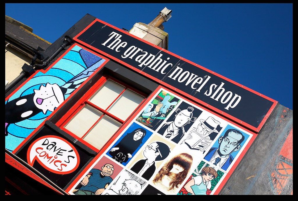 Brighton Graphic novel shop
