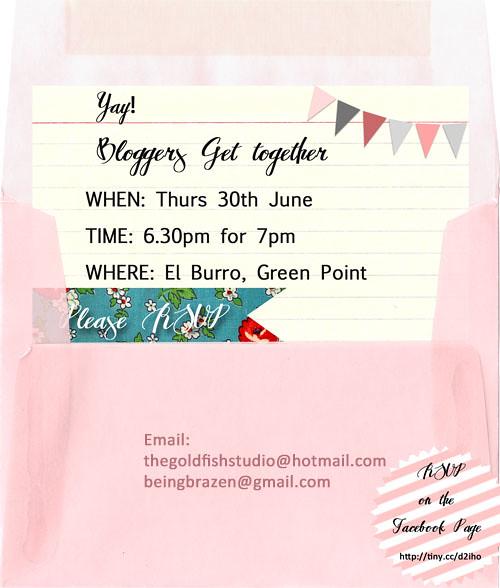 Blogger Invite