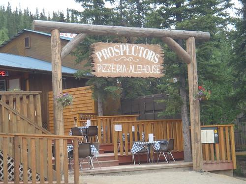 Prospector's Pizza – Denali Park, Alaska
