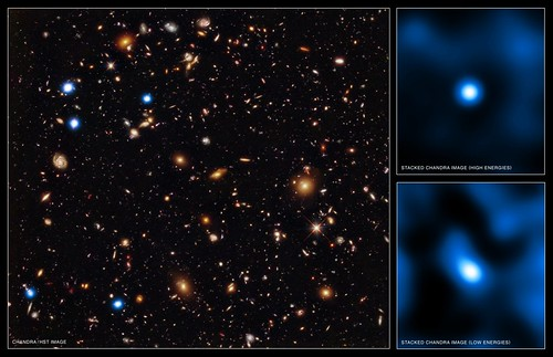 Chandra Deep Field South (NASA, Chandra, Hubble, 06/15/11)
