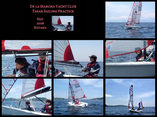 The De la Mancha Yach Club Tasar Sailing Practice ~ May 2008