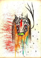 Predicador del Bosque (Krysthopher Woods) Tags: illustration watercolor drawing acuarela dibujo ilustracin predicador