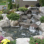 "Charming Water Feature by Greenhaven Landscapes <a style=""margin-left:10px; font-size:0.8em;"" href=""http://www.flickr.com/photos/117326093@N05/12994052825/"" target=""_blank"">@flickr</a>"