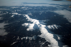 Tatra Mountains from plane