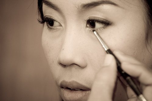 Wedding bride eyeshadow eyelash makeup pictures gallery