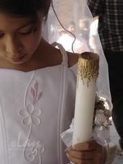 Amen. Primera comunión de Claudia Elizabeth Juárez Gómez