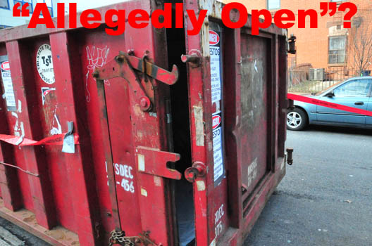 Allegedly Open