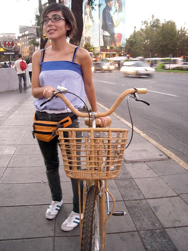 Bicicleta mimbre