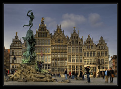 The Brabo Fountain, Antwerp.