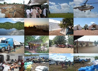 collage mozambique flooding