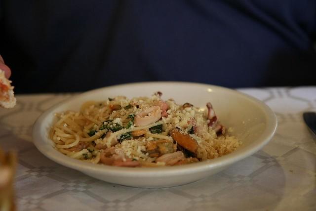 spaghetti ai frutti de mare