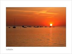 Dawn over shallow water (Regenlicht) Tags: morning orange strand sunrise deutschland baltic harmony ostsee soe greifswald vorpommern gegenlicht 135mm mecklenburgvorpommern betterthangood rubyphotographer