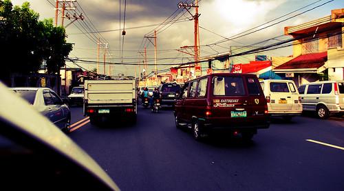 Summer Traffic Jam