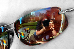 I See What You See (idgie.) Tags: camera selfportrait reflection sunglasses canon garden glasses debs afternoon weekend lawn relaxing sunny shades patio helen sp chatting spectacles washing sunbathing whatisee whatyousee explored eos450d suntrap holdstillhelen lookiburnedmyface
