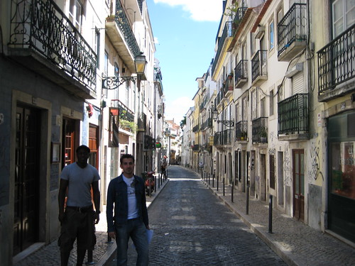 Walking around Baixa
