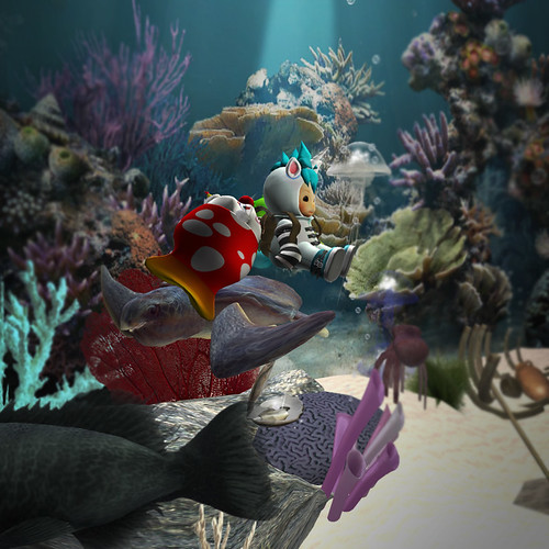 Chicanery Clownfish under the sea2bmp