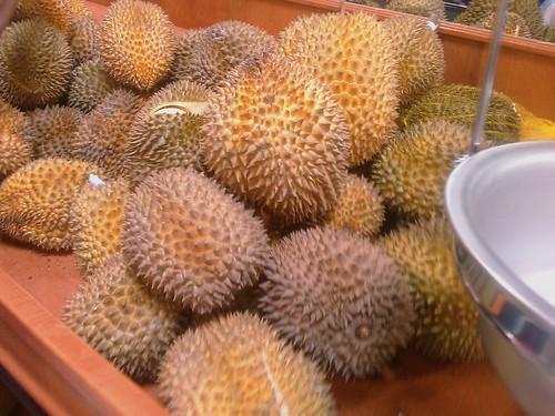 Durians... Smelliest Asian fruit ever!