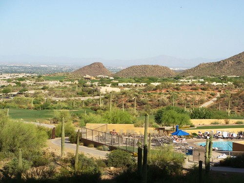 Tucson in the distance