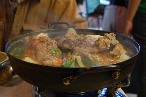 Big Hotpot of Pork and Vegetables