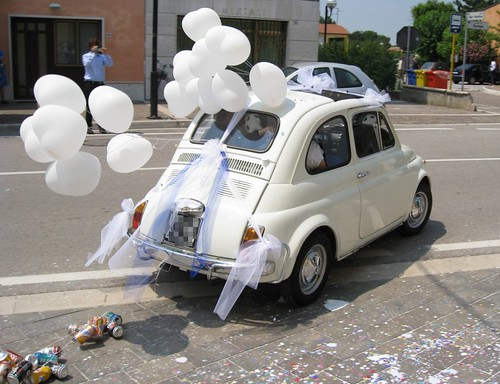 500: wedding's car