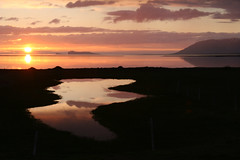 Sunset (Ggja Einars..) Tags: sunset nature iceland spirit traveling summernight
