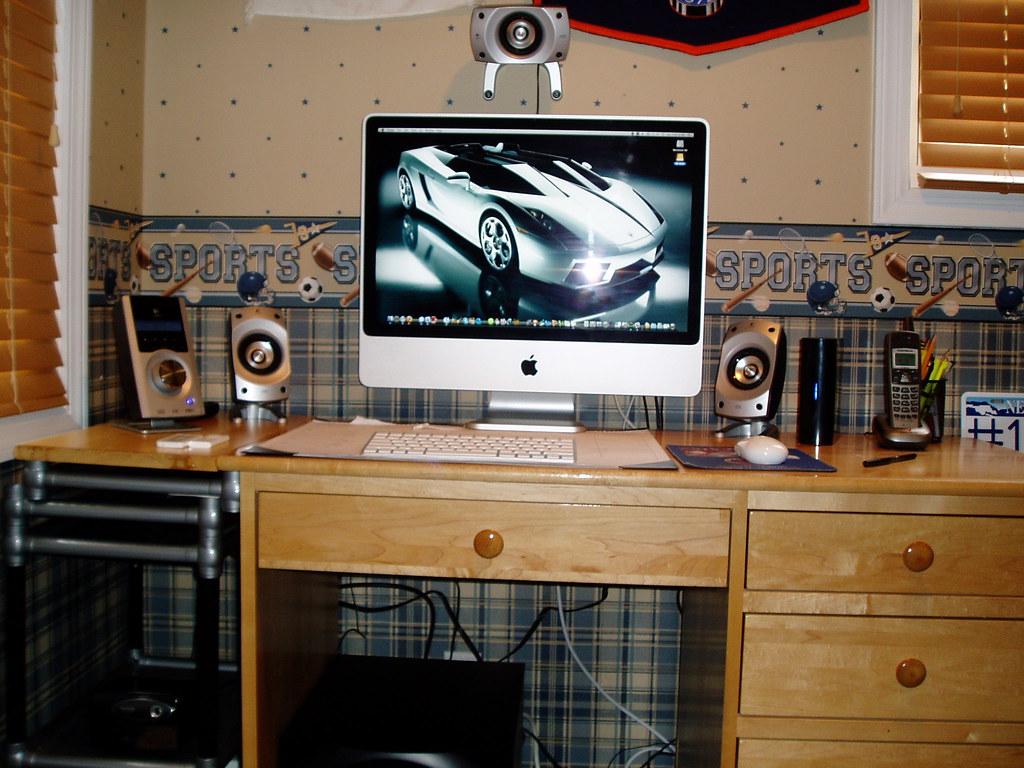 My imac setup