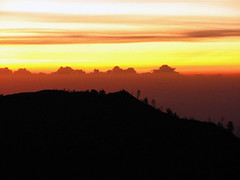 from the top of the world (alaya) Tags: mountain silhouette sunrise bromo eastjava