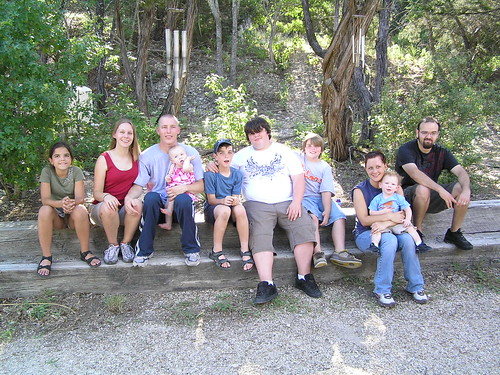 My mom's grandkids (and great grandkids)