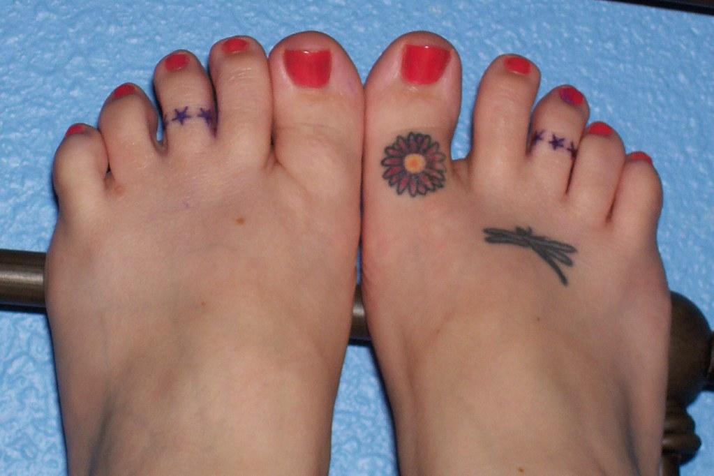 Stars Queen Kandis Tags Feet Tattoo Toes Startattoo Foottattoo Toetattoo