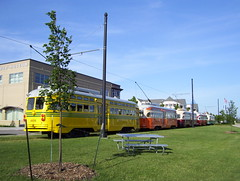 All Out Streetcar Party (streetcarbrad) Tags: streetcar kenosha pcc 4616 4615 4606 4609 4610