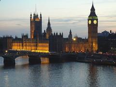 Houses of Parliament sunset (Harry Ball) Tags: bridge london westminster housesofparliament londoneye parliament bigben riverthames westminsterbridge