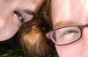 eye to eye (JKönig) Tags: woman sunlight me smile face self hair glasses eyes women esther esther17 togetthis layinginthegrassdownbythegarrisonwaterfront itwastotallyworthgettingtheblackberrystainsonmypants andbythisimeanthememoryofhangingoutwithher