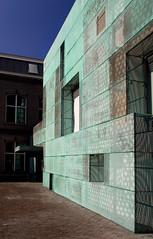 Holl Attached (ken mccown) Tags: amsterdam architecture facade modernism sponge patina stevenhollarchitects woningbouwvereniginghetoosten