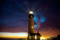 Pigeon Point Lighthouse At Sunset (Darvin Atkeson) Tags: ocean california lighting sea usa lighthouse color beach nature america lens point coast us pacific anniversary pigeon coastal annual beacon  californiacoast 134th    darvin  outdoorphotography  abigfave atkeson californiaphotography outdoorphotographer frensel anawesomeshot  darv californiaphotographer   awardtree liquidmoonlightcom liquidmoonlight