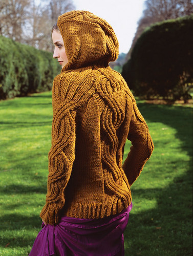 Vogue Knitting fall 08 hoodie