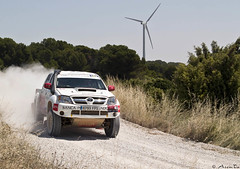 Baja Aragon-España 2008 (Jorge Sesé (ASemTa Fotografía Cofrade)) Tags: españa spain 4x4 rally olympus coche aragon competicion motor baja e300 raid coches carrera bajaespaña bajaaragon asemta bajaaragonespaña
