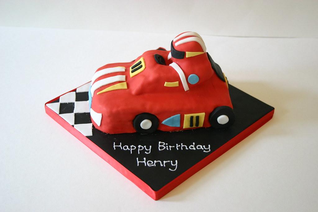 Go-kart cake