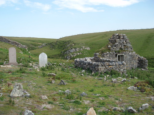 Ruined chapel in St Peters cemetery