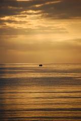 UN BARQUITO DE CASCARA DE NUEZ 2 (javierespadas) Tags: amanecer pesca gijon lacalzada playadelarbeyal