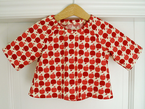 Apple blouse for Frida